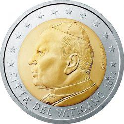 2 евро, Ватикан (тип 1)