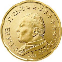 20 евроцентов, Ватикан (тип 1)