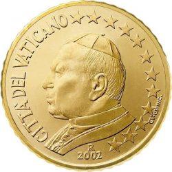 10 евроцентов, Ватикан (тип 1)