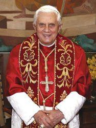 Бенедикт XVI (в миру — Йозеф Алоиз Ратцингер), 263-й папа римский