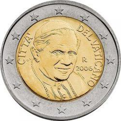 2 евро Ватикана (тип 3)