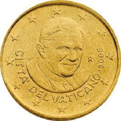 50 евроцентов, Ватикан (тип 3)