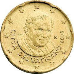 20 евроцентов, Ватикан (тип 3)