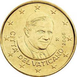 10 евроцентов, Ватикан (тип 3)