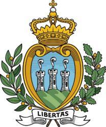 Современный герб Республики Сан-Марино