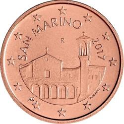 5 евроцентов, Сан-Марино (тип 2)