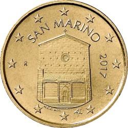 10 евроцентов, Сан-Марино (тип 2)