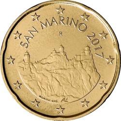 20 евроцентов, Сан-Марино (тип 2)