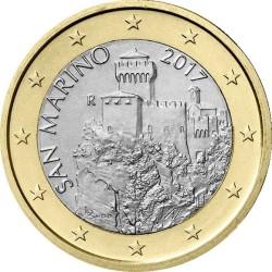 1 евро, Сан-Марино (тип 2)