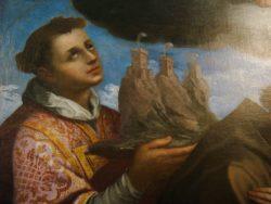 Портрет св.Марино (Джован Баттиста Урбинелли, 1640 г., 293x190 см, Национальный музей Сан-Марино)
