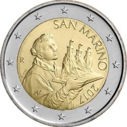 2 евро, Сан-Марино (тип 2)
