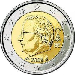 2 евро Бельгии (тип 2)