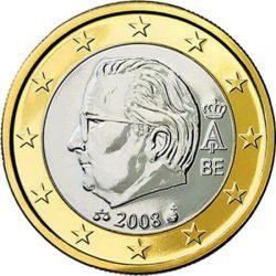 1 евро Бельгии (тип 2)