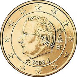 50 евроцентов, Бельгия (тип 2)