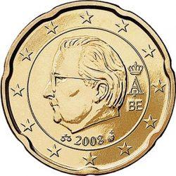20 евроцентов, Бельгия (тип 2)