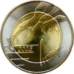 5 евро, Финляндия (10-й Чемпионат мира по лёгкой атлетике)