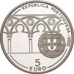 5 евро, Португалия (800 лет с рождения Папы Римского Иоанна XXI)