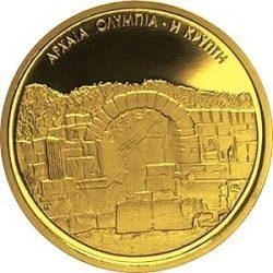 100 евро, Греция (Олимпийская крипта)