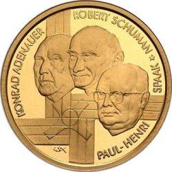 100 евро, Бельгия (Европейское объединение угля и стали)