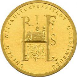 100 евро, Германия (Кведлинбург)
