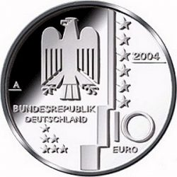 10 евро, Германия (Баухауз)