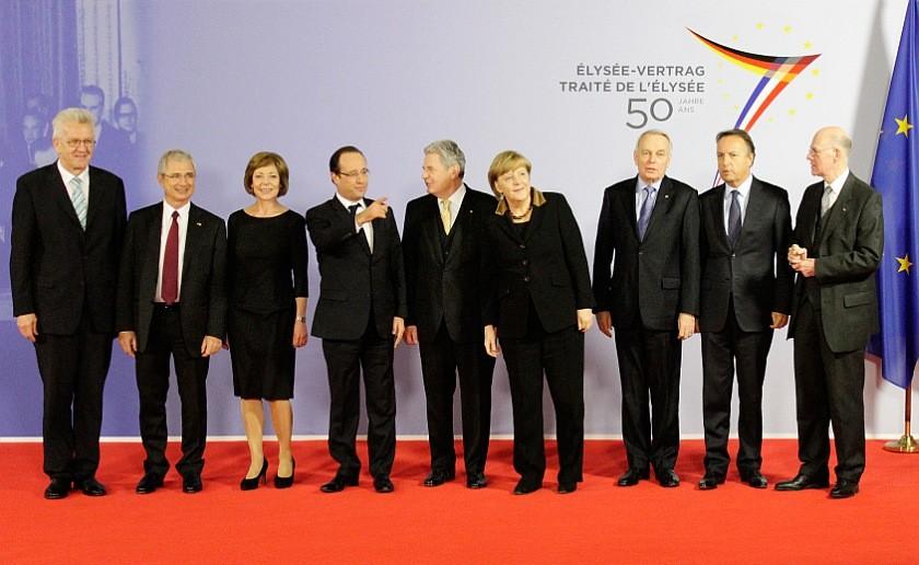 На юбилейном саммите в январе 2013 года