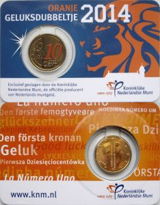 10 cent Netherlands 2014 coincard