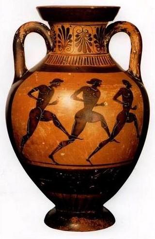 Египетская ваза с рисунками