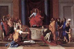 Суд Соломона (Никола Пуссен, 1649, Лувр)