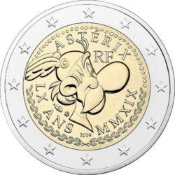 2 евро, Франция (60 лет Астериксу)