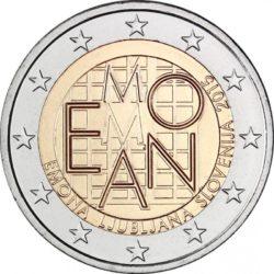 2 евро, Словения (2000 лет римскому поселению Эмона)