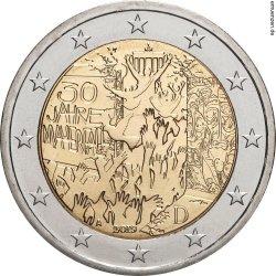 2 евро, Германия (30-летие падения Берлинской стены)