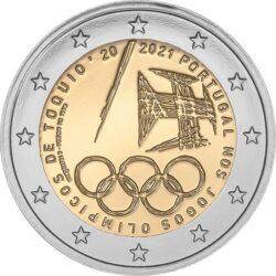 2 евро, Португалия (Португальцы на Олимпийских играх 2020 в Токио)