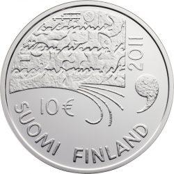 10 евро, Финляндия (Юхани Ахо и финская литература)
