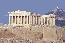 Парфенон — храм Афины на Акрополе