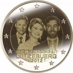 2 евро, Люксембург (Свадьба наследного Великого герцога Люксембурга Гийома и графини Стефании де Ланнуа)