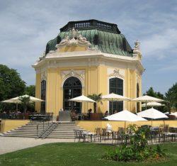 Бывший Императорский павильон, в настоящее время кафе и ресторан
