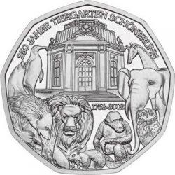 5 евро, Австрия (250 лет зоопарку Шёнбрунн)