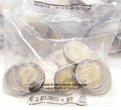 2 euro Irland 2015 Europaflagge Beutel