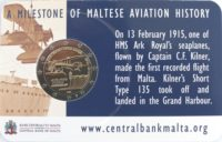 2 euro Malta 2015 coincard
