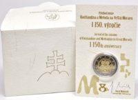 2 euro. Slovakia 2013. coincard Proof