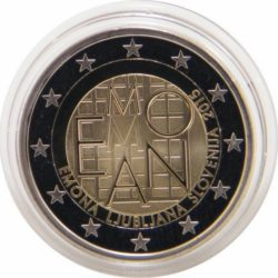 2 евро Словении 2015 Proof