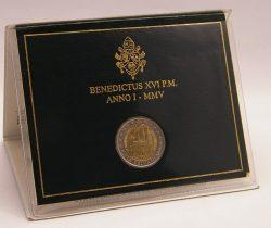 2 euro Vatican 2005