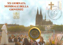 2 euro Vatican 2005 Numisbrief