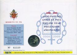 2 euro Vatican 2008 Numisbrief