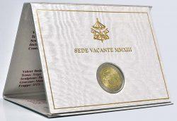 2 euro Vatican 2013 Sede Vacante