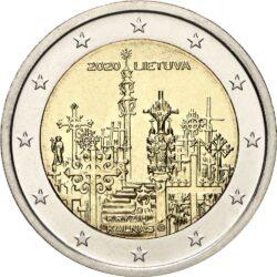 2 евро, Литва (Гора крестов)