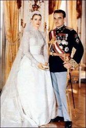 Ренье III со своей супругой Грейс Келли (1956 г.)