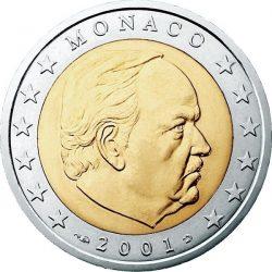 2 евро, Монако (тип 1)