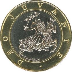 Монеты Монако с изображением печати династии Гримальди чеканятся уже почти 20 лет